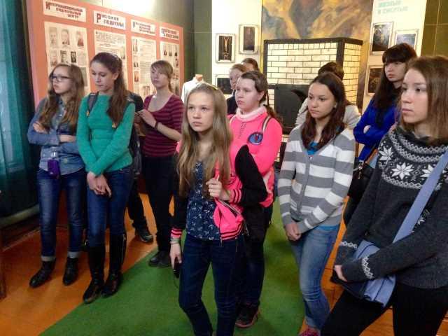 Ижевские волонтёры посетили музей