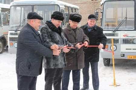 40 новых газовых автобусов