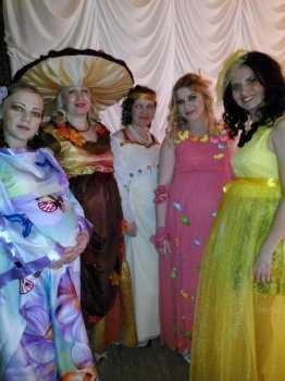 знакомство с участницами конкурса красоты