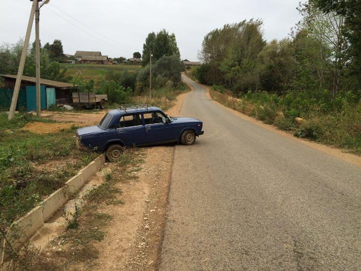 Нетрезвый шофёр сбил пешехода вМожгинском районе