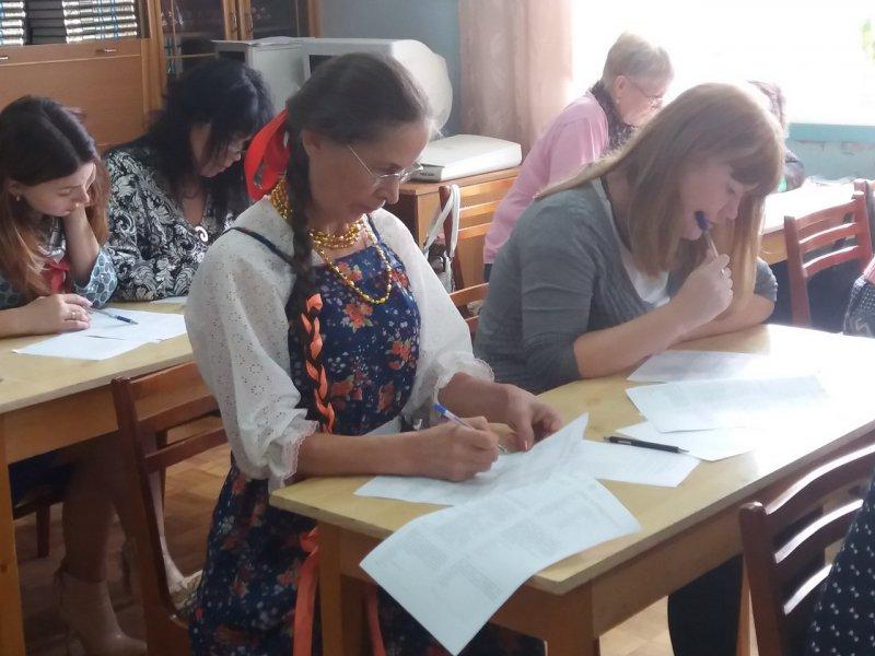 Неменее 50 студентов и учителей Якутска приняли участие вэтнографическом диктанте