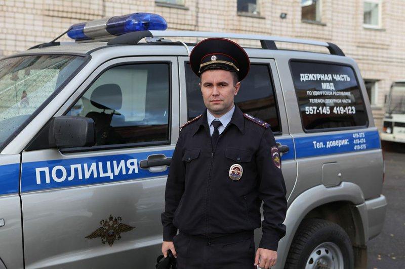 Полицейский изУдмуртии участвует вфинале всероссийского конкурса «Народный участковый-2016»