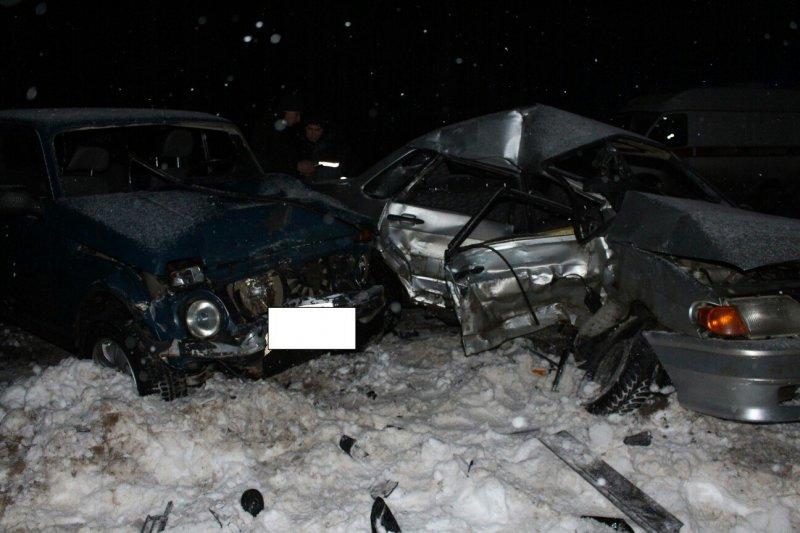 Один человек умер ишестеро ранены вДТП натрассе вУдмуртии