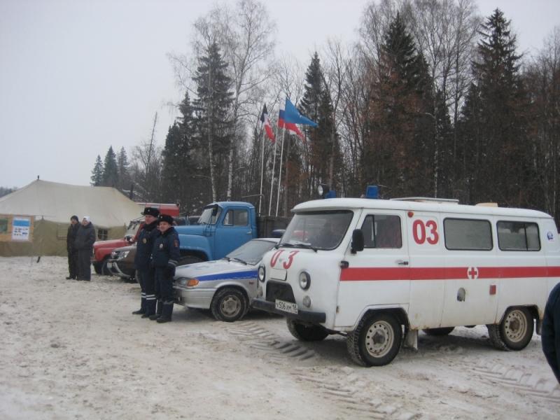 ВУдмуртии организовали мобильный пункт обогрева для водителей