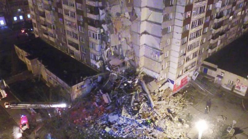 Жертвами обрушения дома вИжевске стали шесть человек